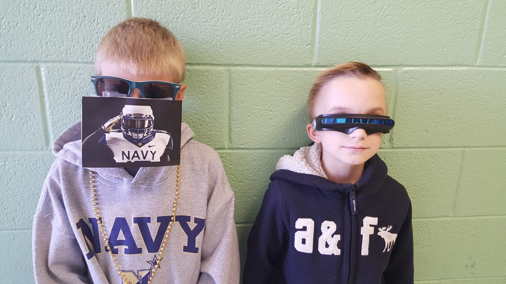 "Brandt Berger and Charlie Westphal were the brains behind ""Crazy Cool Sunglasses Day!"" They organized and planned the whole event to benefit the Kennett Homeless Shelter."