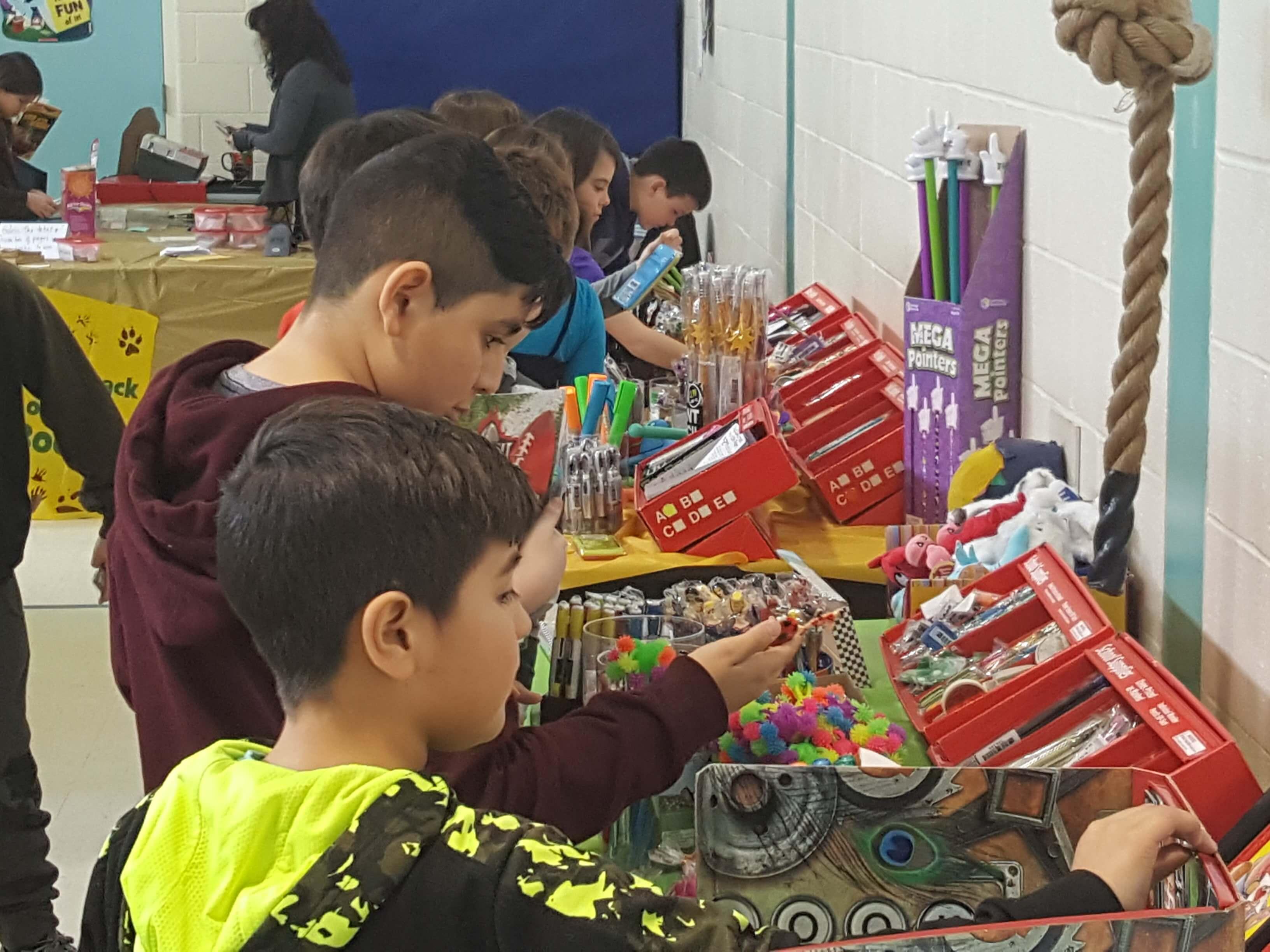 Spring Book Fair New Garden Elementary School
